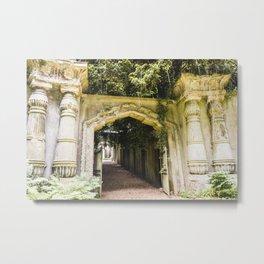 Highgate Cemetery, London - West Cemetery Metal Print