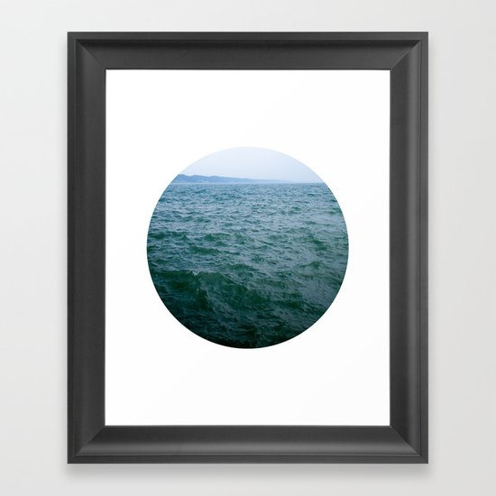 Nautical Porthole Study No.1 Framed Art Print