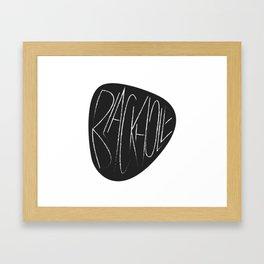 Blackhole Framed Art Print