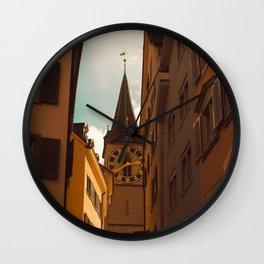 Clock Tower II Wall Clock