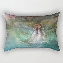 Dragonfly Fairy Rectangular Pillow