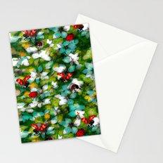 ladybugs festival Stationery Cards