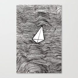 Paper Planes. By Ane Teruel Canvas Print