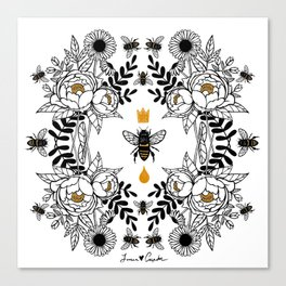 Queen Bee Canvas Print