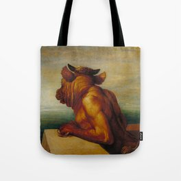 George Frederic Watts - The Minotaur Tote Bag