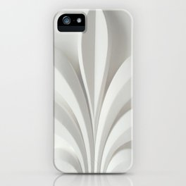 White sculpture iPhone Case