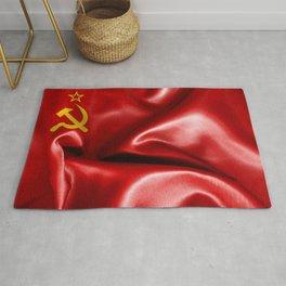Soviet Union Flag Rug