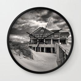 Jennette's Pier II Wall Clock