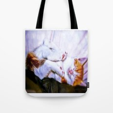 There are a thousand and one way to take a nap Tote Bag