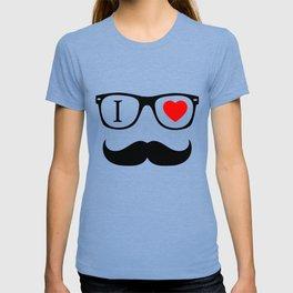 I Love Hipster T-shirt