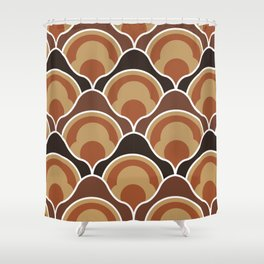 orange and brown shower curtain. Rising Pumpkins In Brown Shower Curtain Curtains  Society6