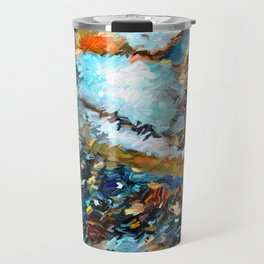 Agate Geode Abstract Travel Mug