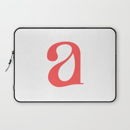 lowercase a Laptop Sleeve