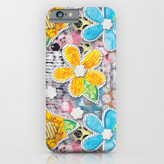 Paper Flower Power iPhone & iPod Case