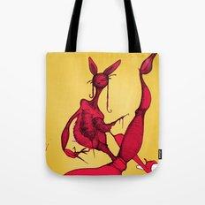 Bunny Ballerina Tote Bag