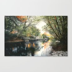 View from Hannah Park Canvas Print