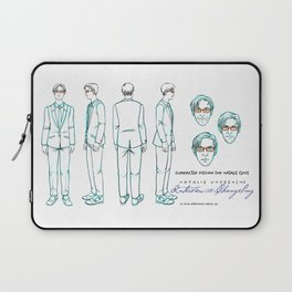 Natalie Close Character Design I Laptop Sleeve