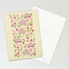 Cheerful Turtles Stationery Cards