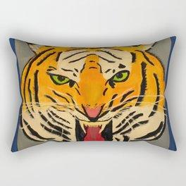 Fear The Tiger Rectangular Pillow