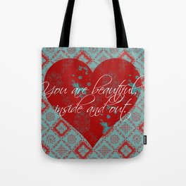 INside and OUt - by Diane Duda Tote Bag
