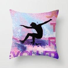 RAD revolution  Throw Pillow