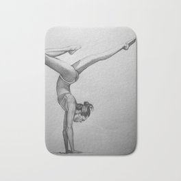 yoga pose Bath Mat