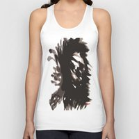 blur Tank Tops featuring Skull Blur  by Myles Hunt