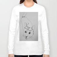 harley Long Sleeve T-shirts featuring Harley by seekmynebula