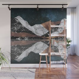Landscape Mountains Wall Mural