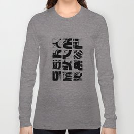 Arabic Alphabets [1] Long Sleeve T-shirt