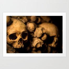 Catacombs 1 Art Print