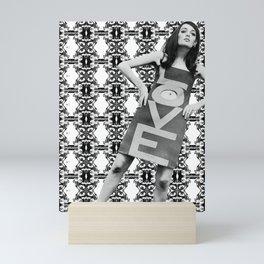 LOVE implosion #9 [invert]  Mini Art Print