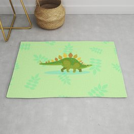 Stegosaurus, Dude Carried His Kitchenware on His Back Rug