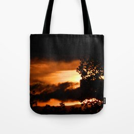 Sunset - FireSky Tote Bag