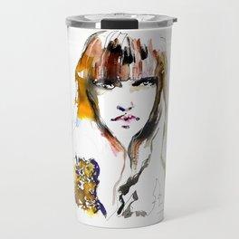 Beauty 4/2019. Fashion illustration Travel Mug