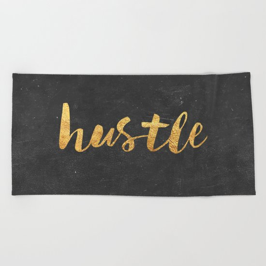 Hustle Beach Towel