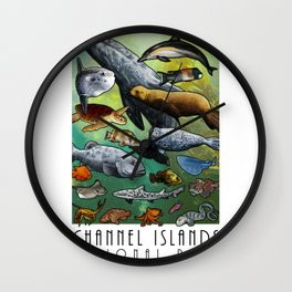 Channel Islands National Park Wall Clock