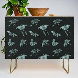 Jade Butterflies Credenza