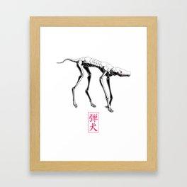 Bulletdog Framed Art Print