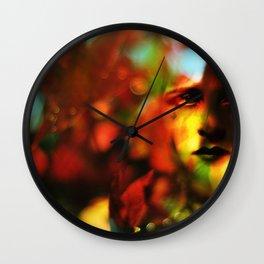Autumnal Wall Clock