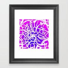 Pink & Purple Love Framed Art Print