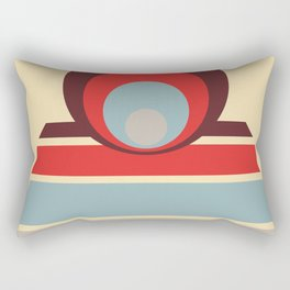Circles & Dots 10 Rectangular Pillow