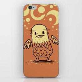 Bald Angel iPhone Skin