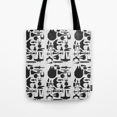 Famous Sci Fi Ships Tote Bag