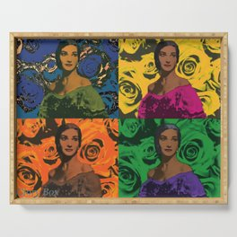 Maria Callas quartet Serving Tray
