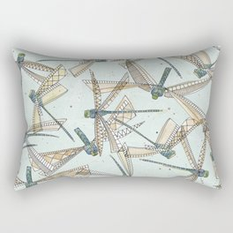 watercolor dragonflies Rectangular Pillow
