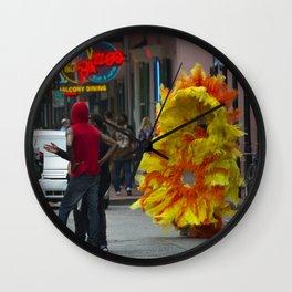 Nola Sunflower Wall Clock