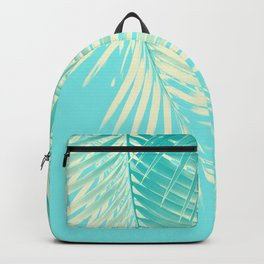 Palm Leaves Summer Vibes #4 #tropical #decor #art #society6 Backpack