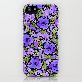 Periwinkle Bouquet iPhone Case