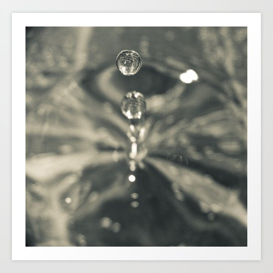 Make a Splash Art Print